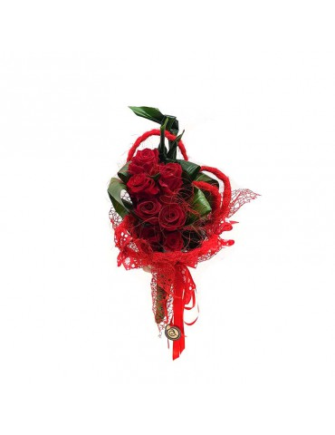 Bouquet rose stabilizzate rosse