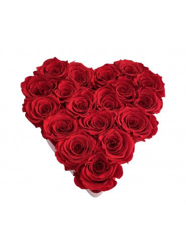 Cuore Rose Rosse Small
